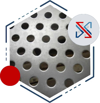 Round Hole Perforated Sheet/Plate