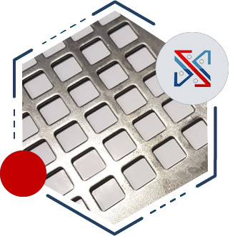 Square Hole Perforated Sheet/Plate